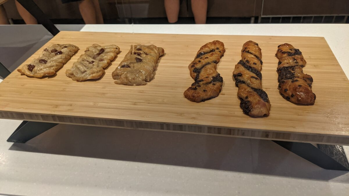 Buy pastries and other breads at Coaster Coffee Co. in SeaWorld Orlando
