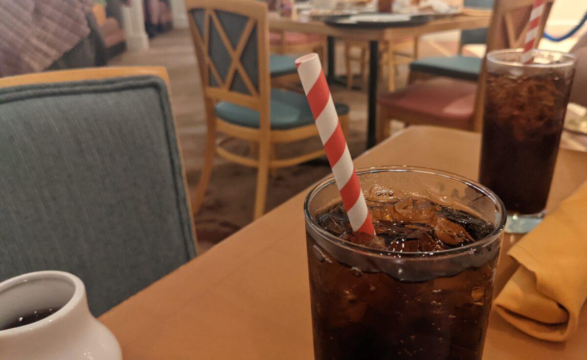 Walt Disney World Resort in Orlando, Florida has paper straws