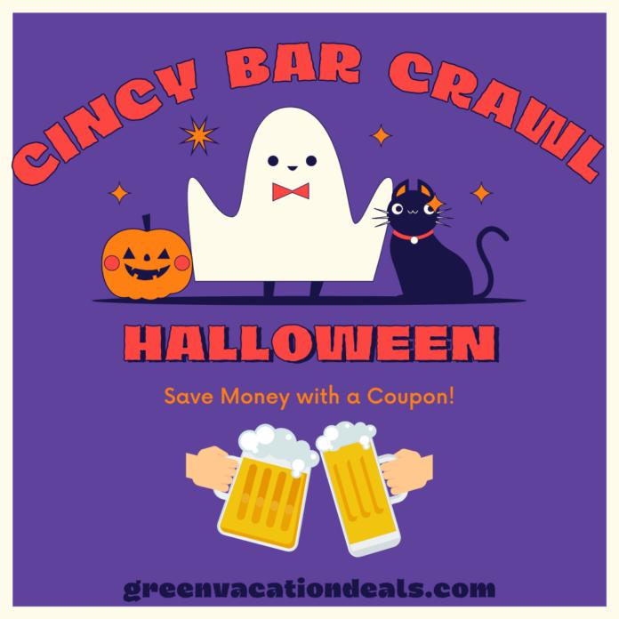 Crawl With Us Halloween Bar Crawl in Cincinnati, Ohio discounted admission