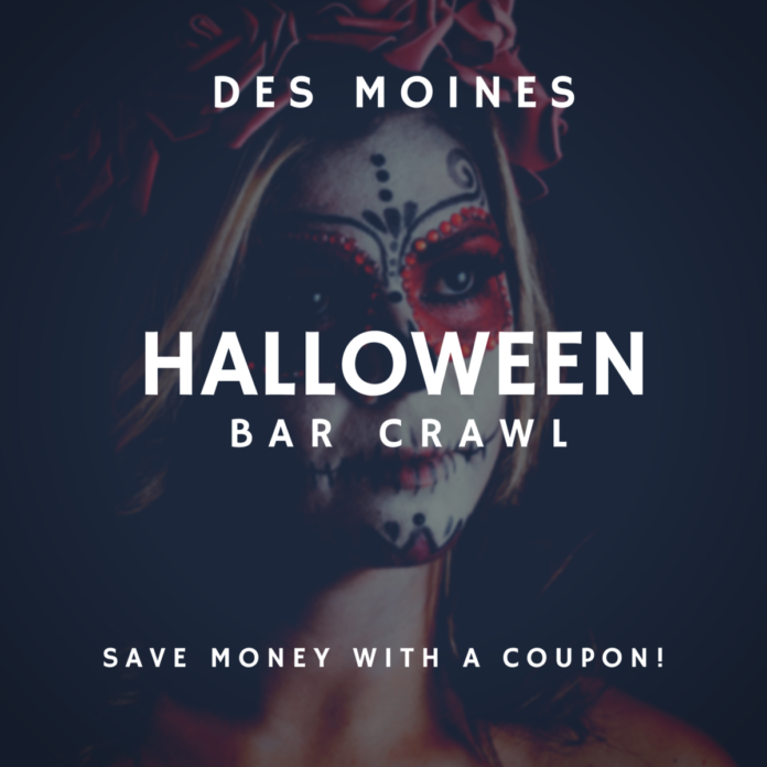 Discounted ticket to Crawl With Us Halloween Crawl in Des Moines, IA