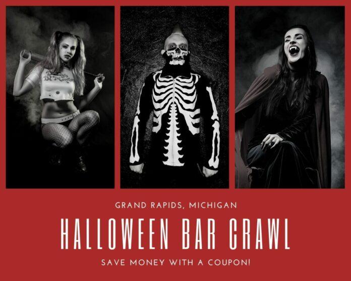 Grand Rapids Halloween Bar Crawl 2021 Discount Wristband