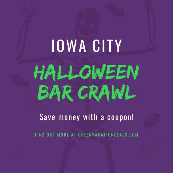 Crawl With Us Halloween Crawl Iowa City Discount Ticket