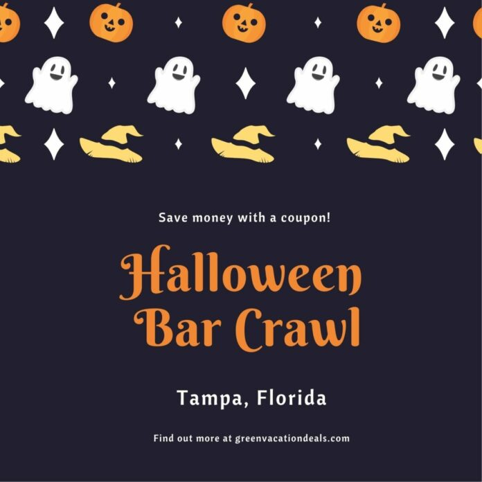 Tampa Crawl With Us Halloween Crawl Discount Ticket