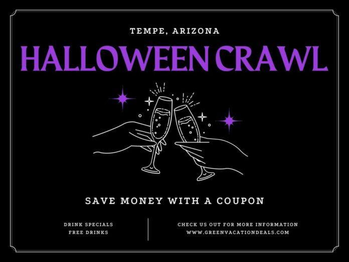 20% off Crawl With Us Halloween Crawl in Tempe, Arizona