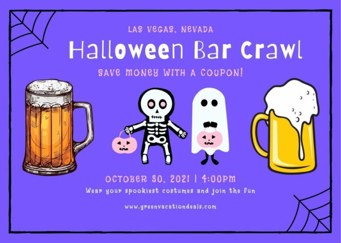 Discount ticket to Crawl With Us Halloween Crawl in Las Vegas