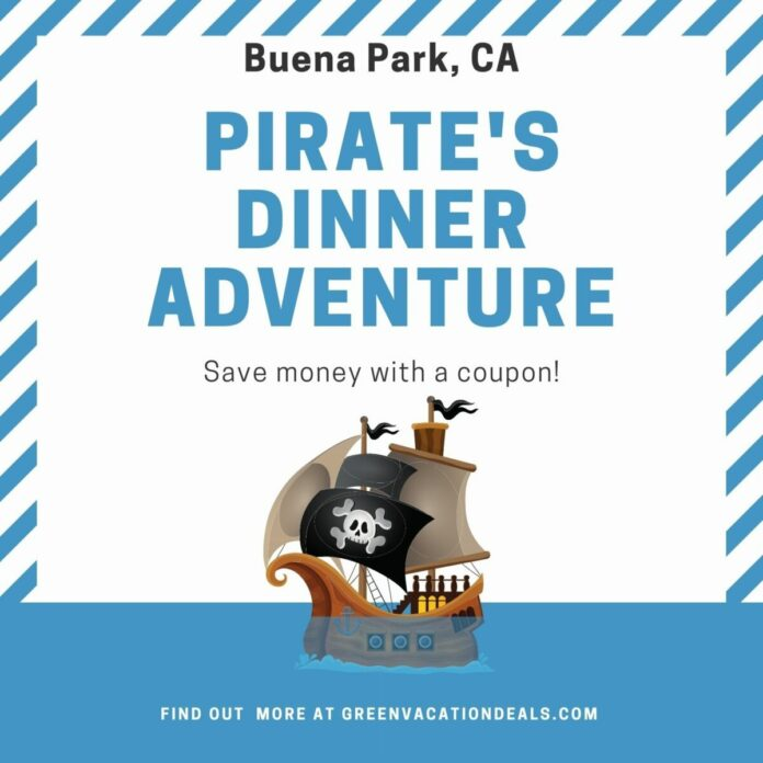 Pirate's Dinner Adventure near Anaheim, Los Angeles discount ticket