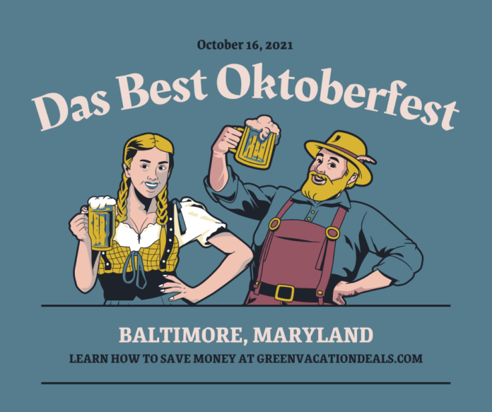 30% off general & VIP admission to Das Best Oktoberfest at M&T Bank Stadium in Baltimore, Maryland