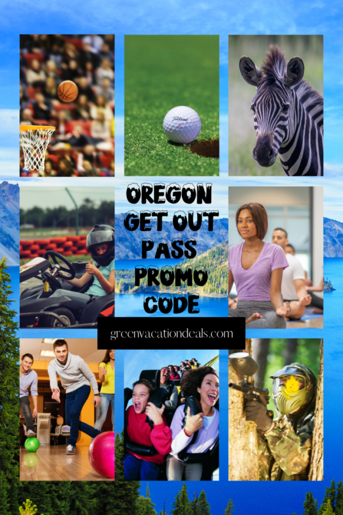 Get Out Pass Oregon gets you discounted prices for Trail Blazer games, mini golf, laser tag, bowling, amusement park, wildlife safari & more