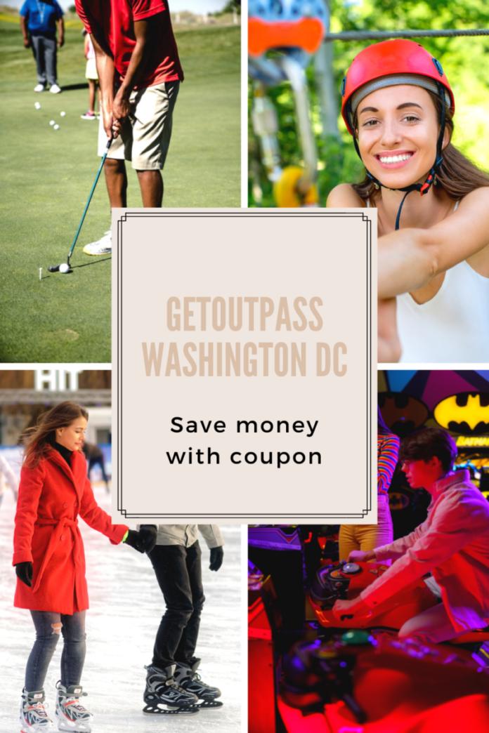 Promo code, coupon for Washington DC GetOutPass