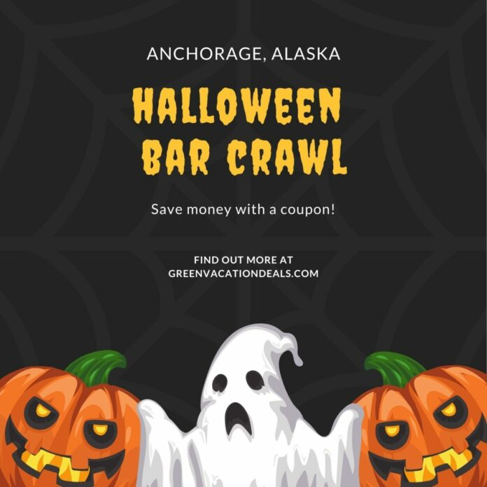 Anchorage Crawl With Us Halloween Crawl Discount Ticket