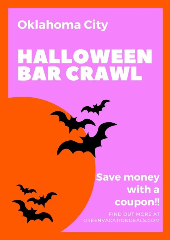 Crawl With Us Halloween Bar Crawl in OKC Discount Ticket