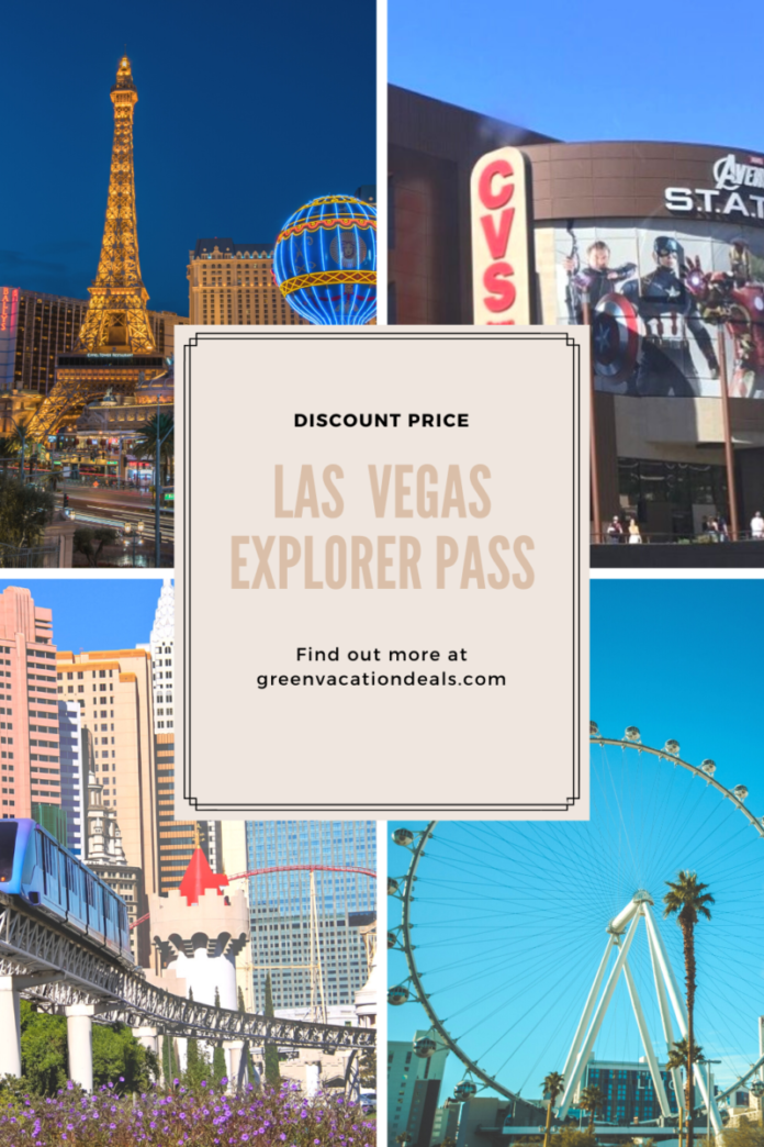 Save up to 55% on attractions & get an additional discount for the Las Vegas Explorer Pass