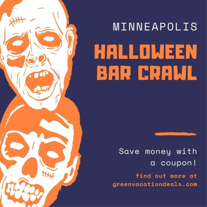Twin Cities Halloween Bar Crawl Discount Ticket