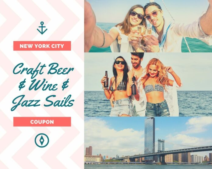 Discounted admission for Craft Beer Sail or Wine and Jazz Sail in NYC