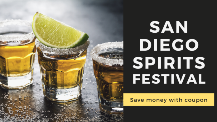 Discount ticket for Spirits Festival in San Diego, California