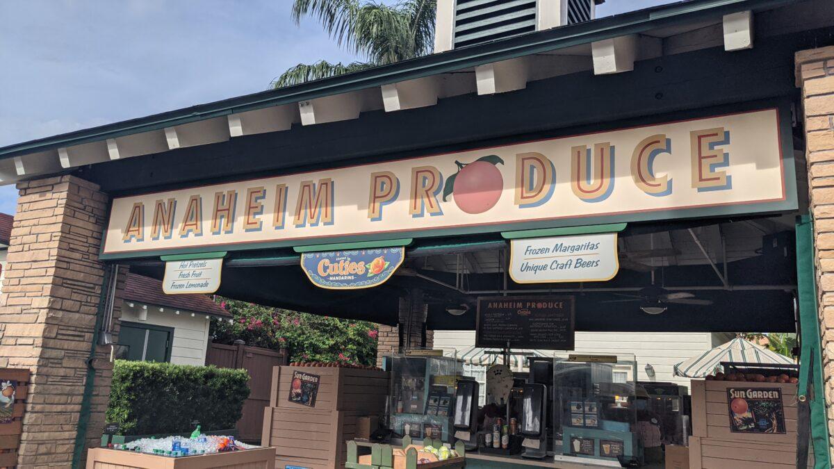 Anaheim Produce Quick Service Restaurant at Disney's Hollywood Studios in Orlando Florida