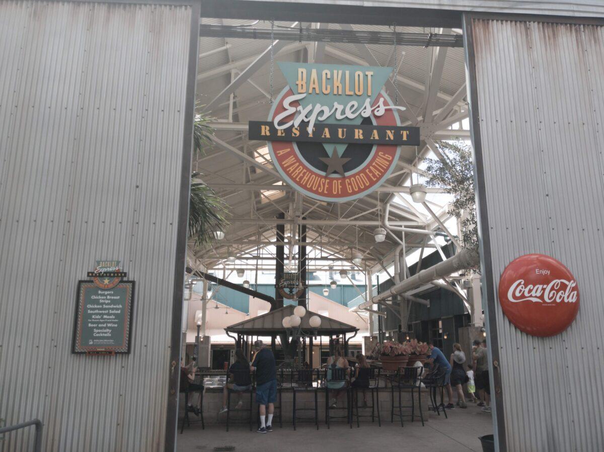 Backlot Express Restaurant at Disney's Hollywood Studios Park