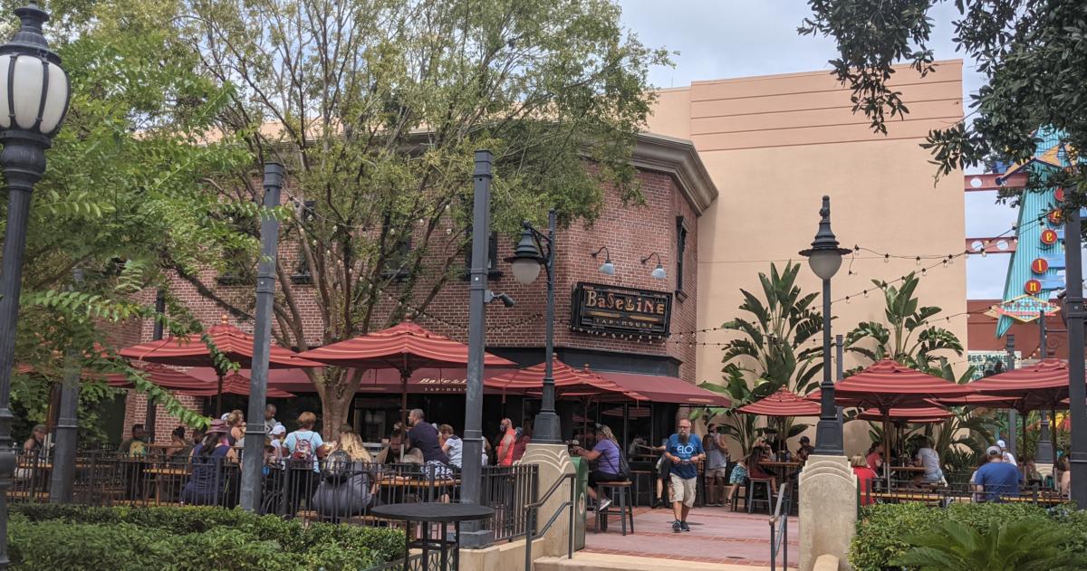 Baseline Tap House Lounge at Disney's Hollywood Studios