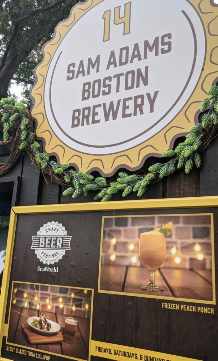 SeaWorld Craft Beer Festival in Orlando, Florida 2021: Virtual tour, drink & food info & more