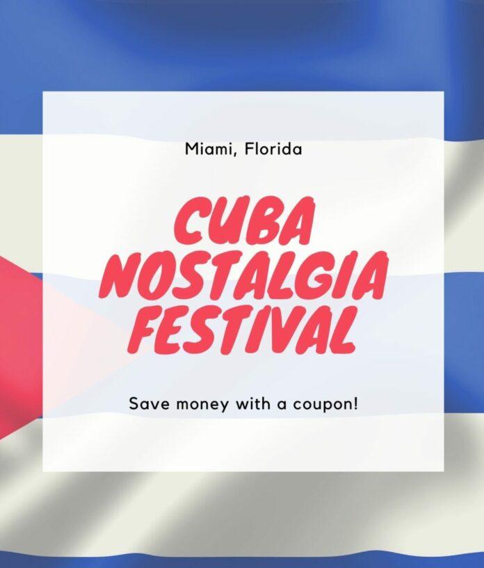 Cuba Nostalgia discount ticket in South Florida