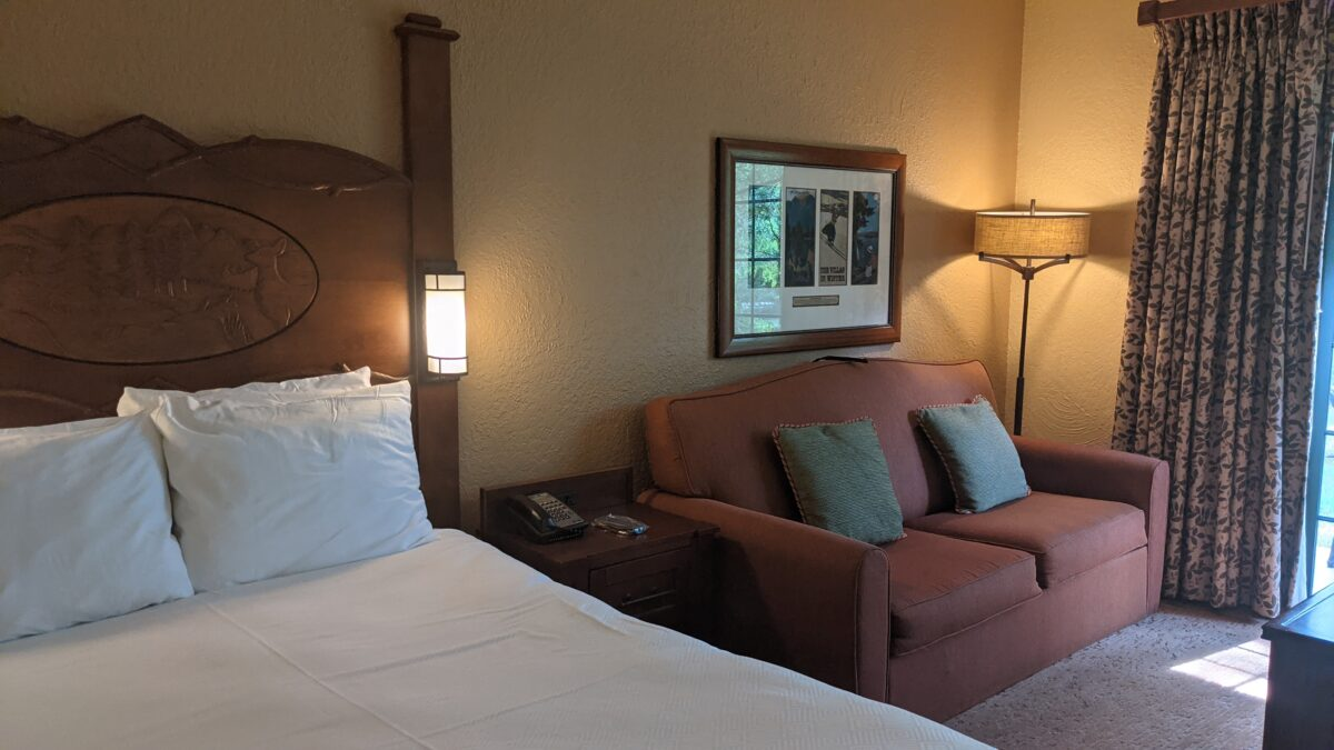 Save money booking a stay at Wilderness Lodge by renting points for a Disney Vacation Club villa rental like this one at Boulder Ridge