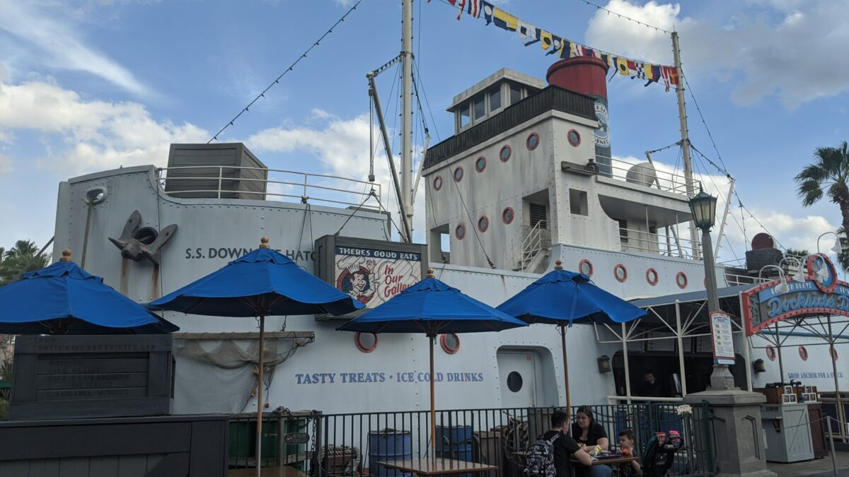 Dockside Diner Treats and Drinks at Disney's Hollywood Studios
