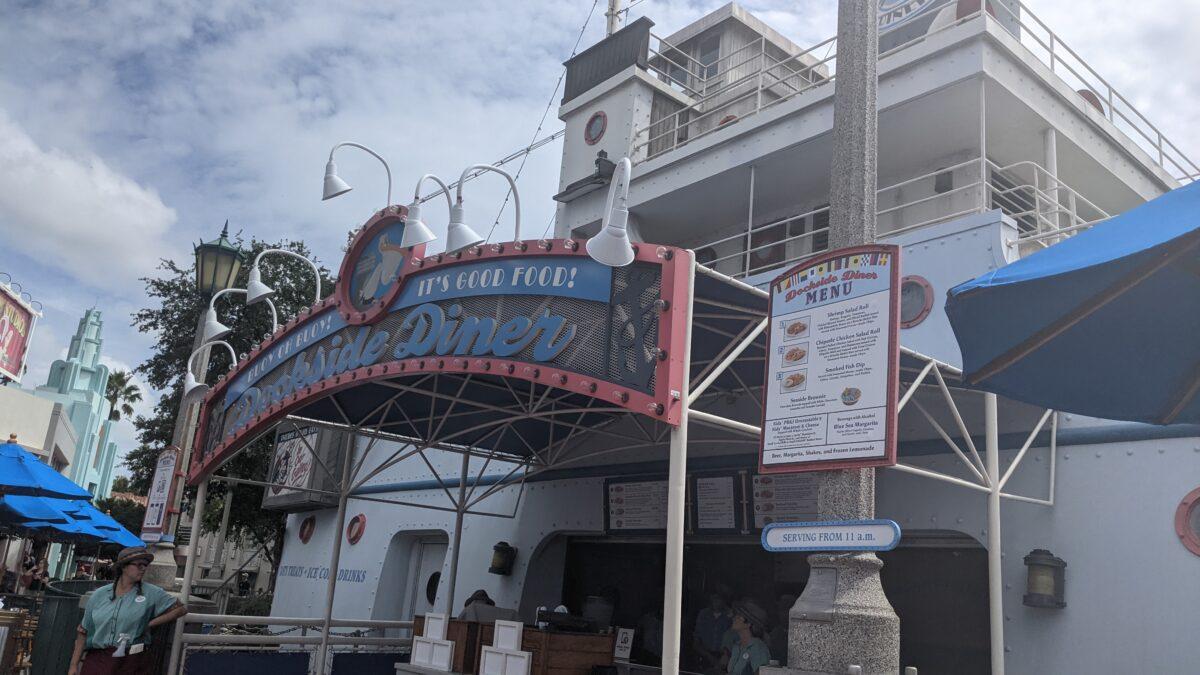 Dockside Diner Menu and Restaurant at Hollywood Studios Disney World