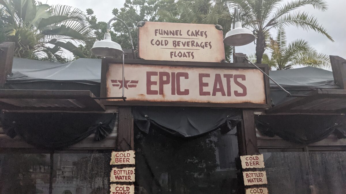 Epic Eats Funnel Cakes Food Stand at Disney's Hollywood Studios