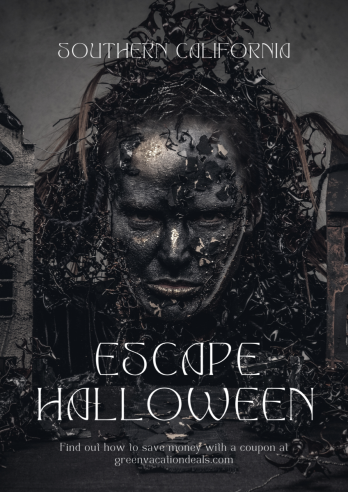 Escape Halloween music festival in Southern California discount ticket