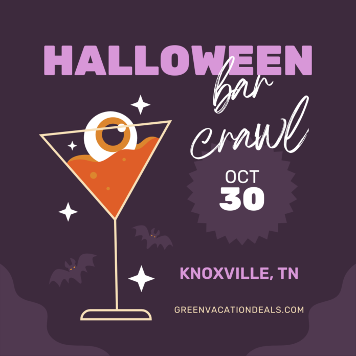 Discount ticket for Crawl With Me Halloween Crawl in Knoxville, TN