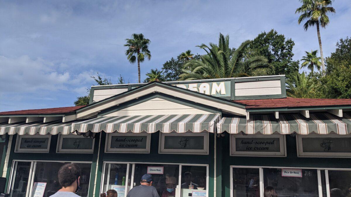 Hollywood Scoops Ice Cream Restaurant at Disney's Hollywood Studios in Orlando
