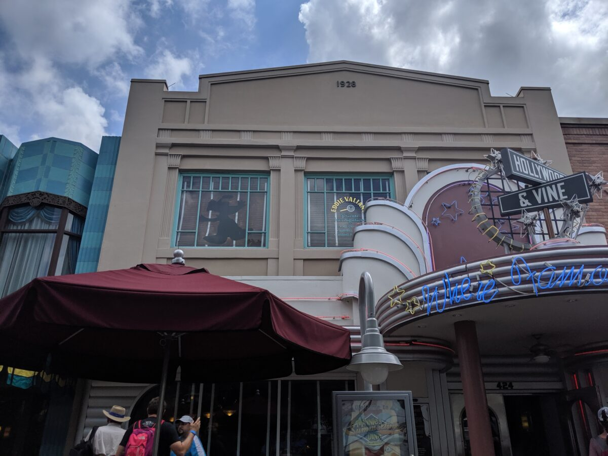Hollywood and Vine Dining at Disney World in Orlando