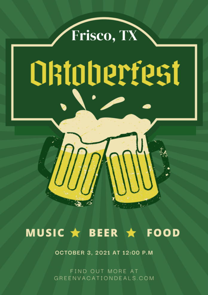 Oktoberfest beer festival at Frisco Square in Texas discount ticket
