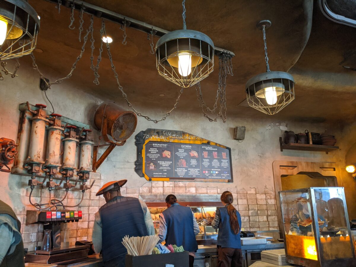Ronto Roasters Quick Service Restaurant at Disney's Hollywood Studios