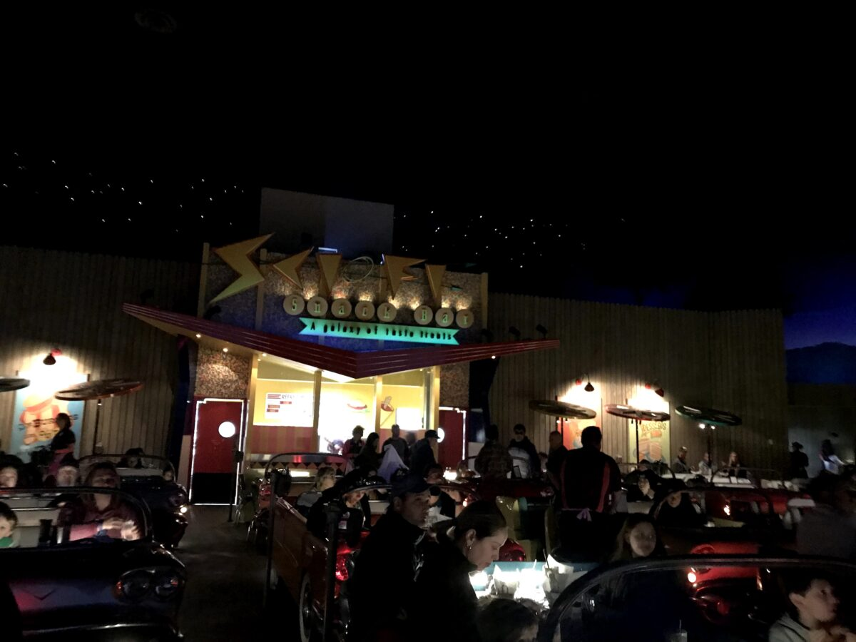 Sci-Fi Dine-In Theater Restaurant at Disney World