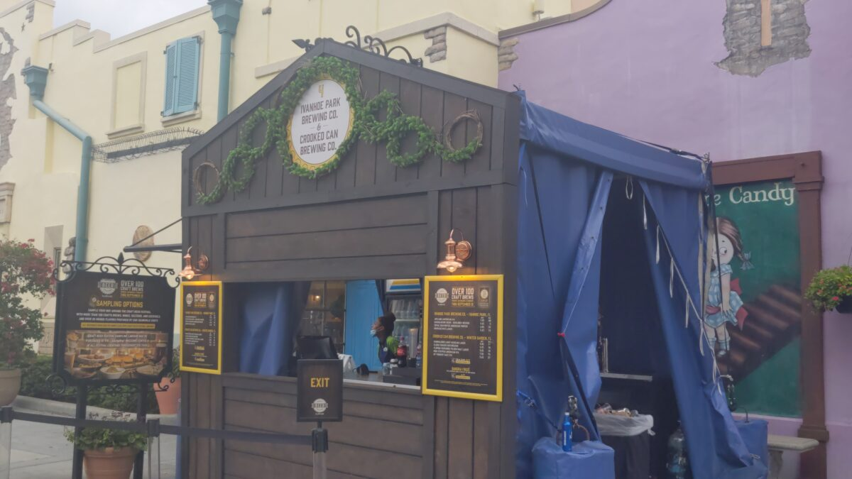 Drink beer while your kids trick-or-treat at SeaWorld theme park in Orlando, Florida
