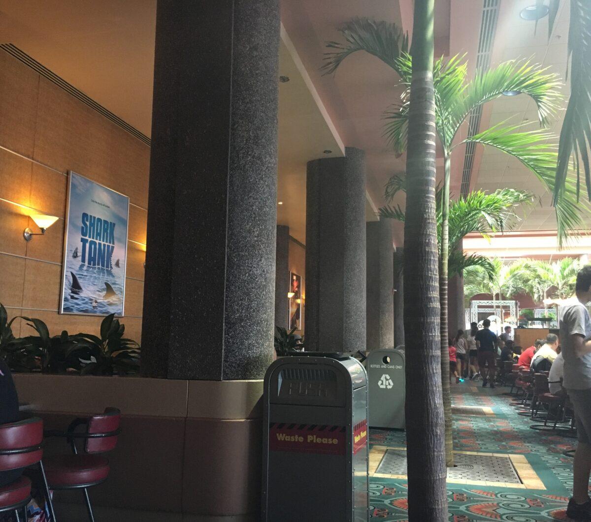 Inside ABC Commissary Restaurant at Hollywood Studios in Disney World