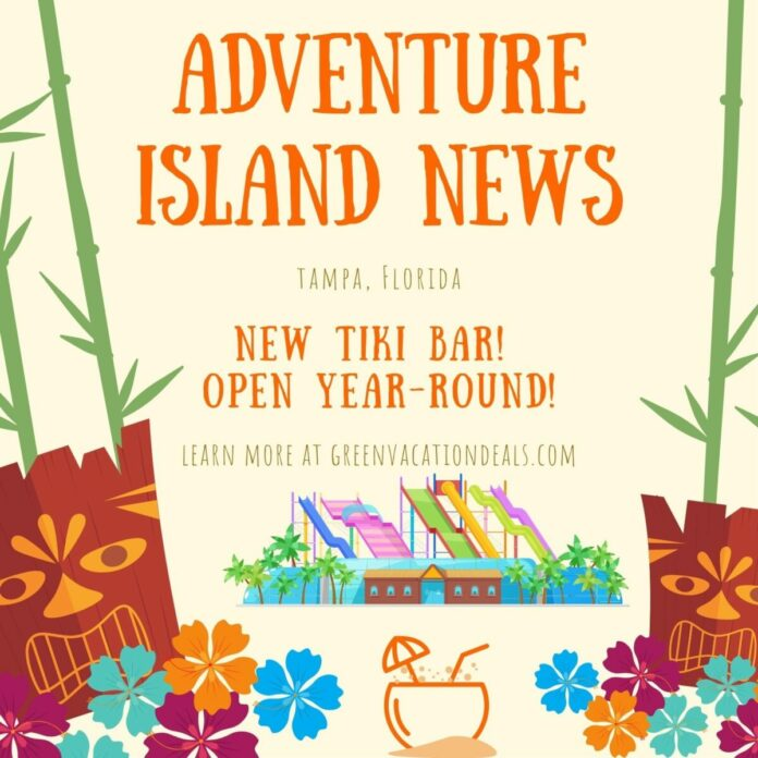 2021 News for Adventure Island water park in Tampa Bay, Florida
