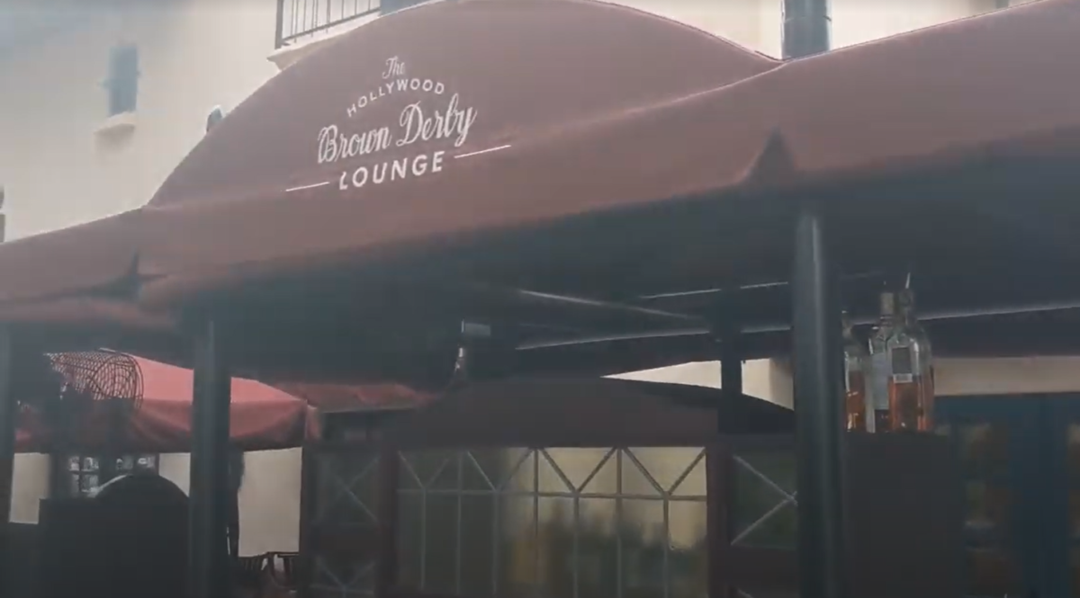 Sample some of Disney's Brown Derby Restaurant's food at the Brown Derby Lounge in Hollywood Studios in Orlando, Florida