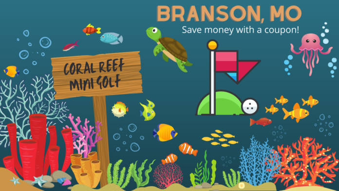 Discounted ticket to Coral Reef Mini Golf in Branson