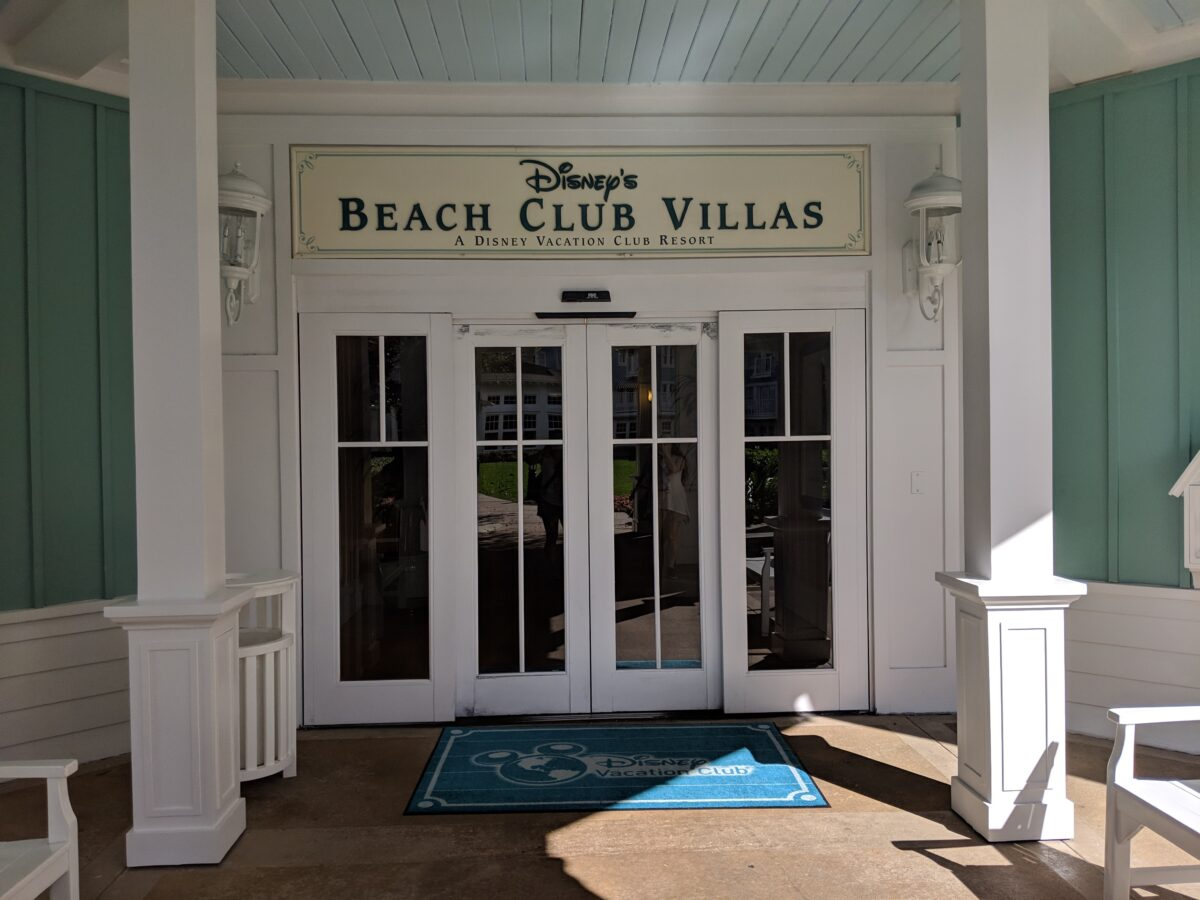 The Disney Beach Club Villas are a part of the Beach & Yacht Club at Disney World in Orlando, Florida