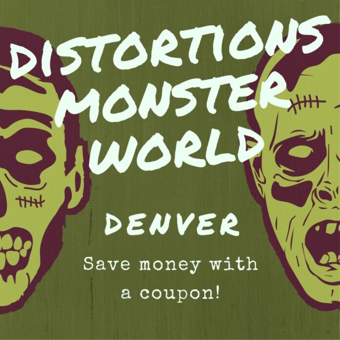 Discounted admission to Distortions Monster World in Denver, Colorado