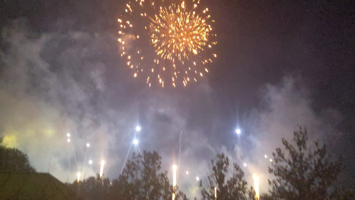 Watch the Epcot fireworks from the beach area of the Beach & Yacht Club Disney hotels in Orlando