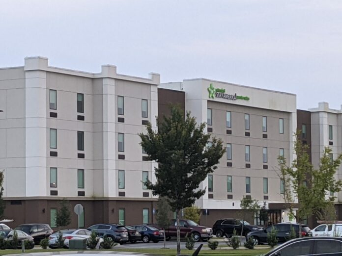 Extended Stay America is a great hotel off I-95 near Tanger Outlets, Savannah