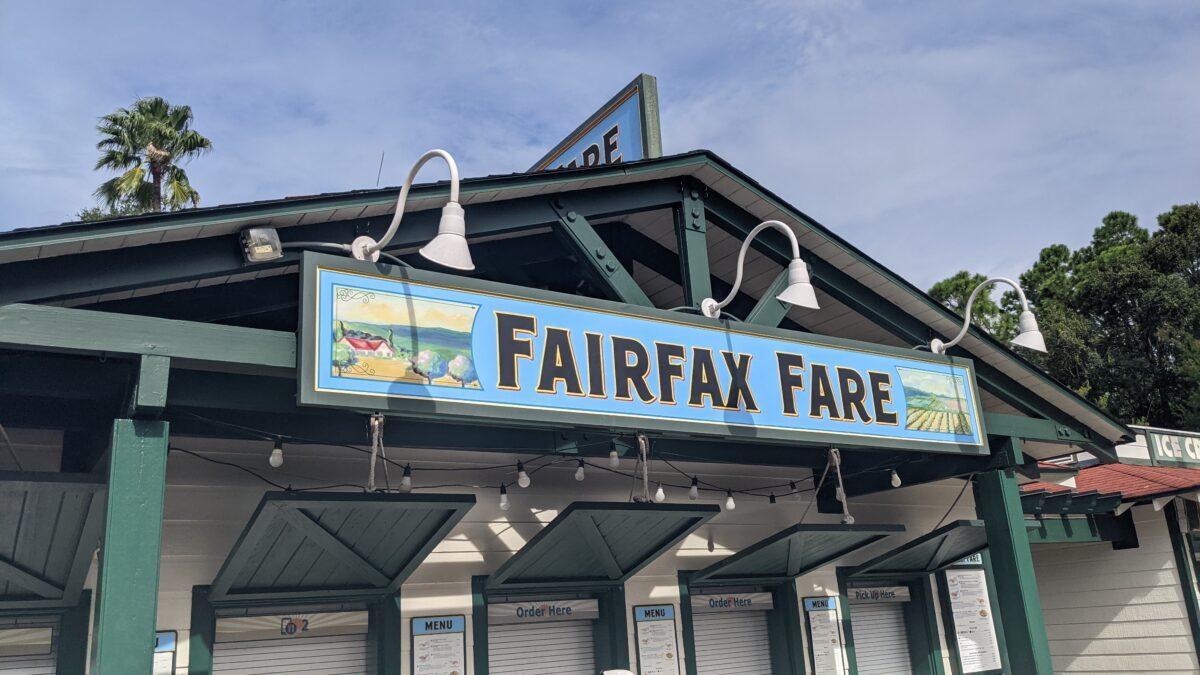 Fairfax Fare Quick Service Restaurant at Disney's Hollywood Studios in Orlando Florida
