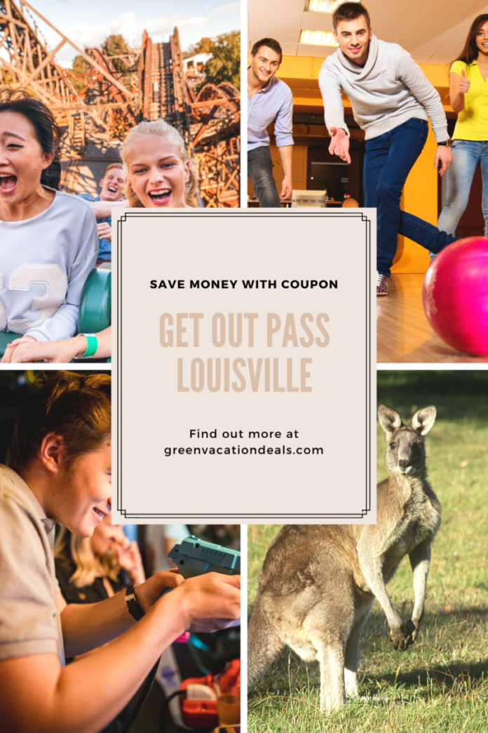 Get free admission to Kentucky Kingdom, Down Under Zoo, bowling, trampoline parks & more with Get Out Pass Louisville