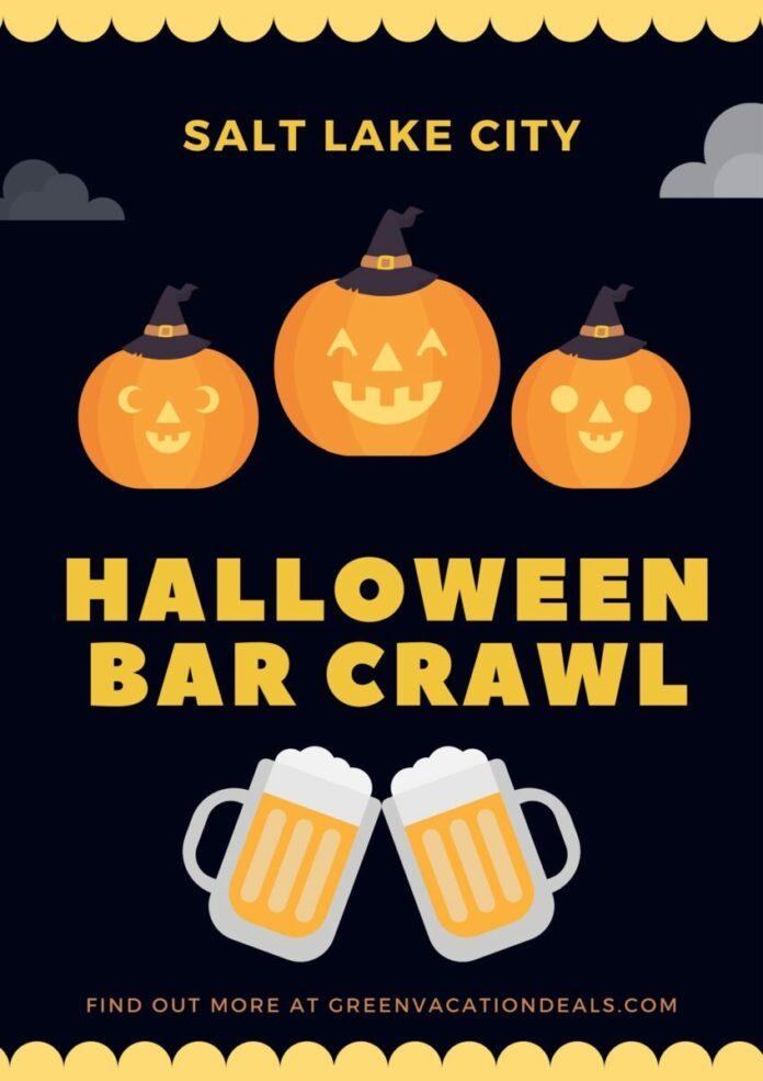 Salt Lake City Halloween Bar Crawl Discount Ticket