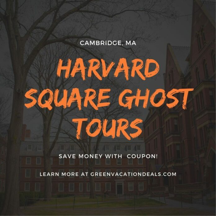 Discount ticket for Ghost Tour of Harvard Square's Haunts near Boston