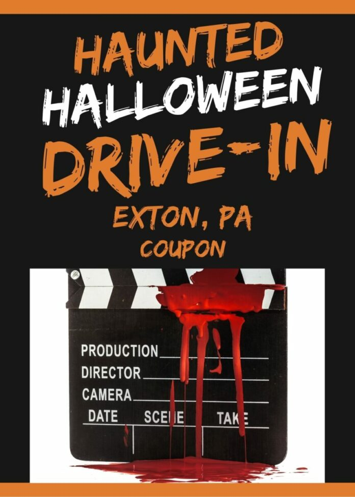 Halloween Haunted Drive In Movie Event in Exton, PA discount ticket