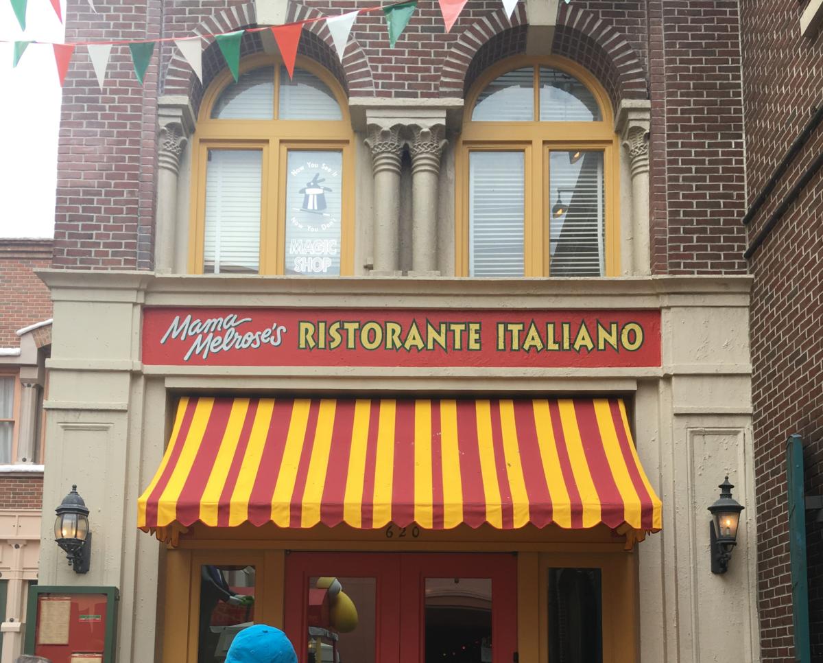 Mama Melroses Ristorante Italiano in Disney's Hollywood Studios